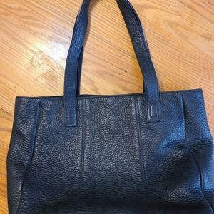 Talbots **soft pebbled leather shoulder bag